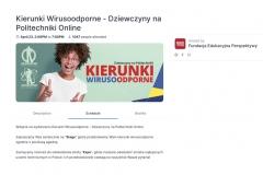 """Wydarzenie pod hasłem """"Kierunki wirusoodporneonline"""" odbyło się na platformie Hopin 23 kwietnia 2020 r."""