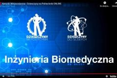 """Sesja """"Inżynieria biomedyczna"""" podczas wydarzenia online pod hasłem """"Kierunki wirusoodporne"""""""