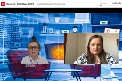Women in Tech Days online, 27 kwietnia 2020 r.