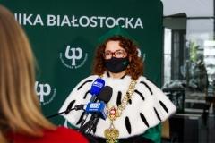 Rektor PB Marta Kosior-Kazberuk
