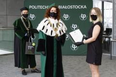 """Wręczenie certyfikatów """"Super Student Politechniki Białostockiej"""""""