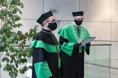 prof. Andrzej Sikorski i dr hab. inż. Bogusław Butryło, prof. PB