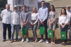Studentki i studenci Wydziału Architektury PB nagrodzeni przez prezydenta Białegostoku w konkursie na projekt windy dla Muzeum Wojska w Białymstoku