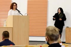 Uroczystość zakończenia dwóch edycji Podlaskiego Uniwersytetu Dziecięcego na Politechnice Białostockiej, 11 września 2021 r., fot. Katarzyna Cichoń (5)
