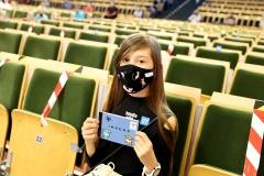 Uroczystość zakończenia dwóch edycji Podlaskiego Uniwersytetu Dziecięcego na Politechnice Białostockiej, 11 września 2021 r., fot. Katarzyna Cichoń (30)