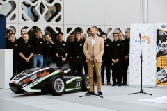 Bolid CMS-07 Formuła Student. Siódme dziecko zespołu Cerber Motorsport, fot. Gabriela Kościuk, Politechnika Białostocka (9)