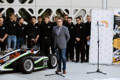 Bolid CMS-07 Formuła Student. Siódme dziecko zespołu Cerber Motorsport, fot. Gabriela Kościuk, Politechnika Białostocka (15)
