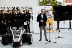 Bolid CMS-07 Formuła Student. Siódme dziecko zespołu Cerber Motorsport, fot. Gabriela Kościuk, Politechnika Białostocka (18)
