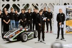 Bolid CMS-07 Formuła Student. Siódme dziecko zespołu Cerber Motorsport, fot. Gabriela Kościuk, Politechnika Białostocka (29)