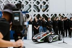 Bolid CMS-07 Formuła Student. Siódme dziecko zespołu Cerber Motorsport, fot. Gabriela Kościuk, Politechnika Białostocka  (6)