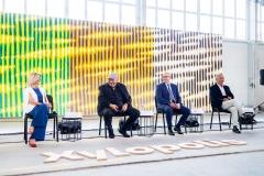 Konferencja Xylopolis, prezentacja obrazu prof. Leona Tarasewicza, fot. Jerzy Doroszkiewicz, Politechnika Białostocka (2)