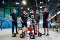 Analog mobilnego robota marsjańskiego #next będzie reprezentował Politechnikę Białostocką oraz województwo podlaskie na Expo w Dubaju, fot. Paweł Jankowski, Politechnika Białostocka  (5)