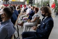 Uroczystość wręczenia odznaczeń państwowych pracownikom Politechniki Białostockiej 24.06.2021 r., fot. G. Kościuk