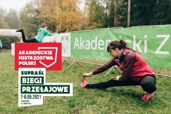 Akademickie Mistrzostwa Polski w biegach przełajowych. Supraśl 2021