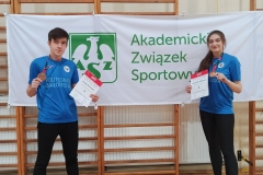 Akademickie Mistrzostwa Polski w Karate WKF reprezentanci Klubu Uczelnianego AZS Politechniki Białostockiej