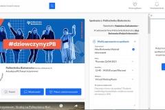 """""""Dziewczyny na Politechniki""""  22 kwietnia 2021 r fot. 14"""