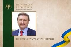 prof. Volodymyr Onyshchenko
