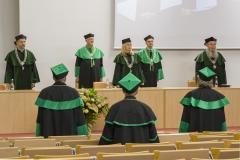 Inauguracja roku akademickiego 2020/2021 na Politechnice Białostockiej. Uroczystość 8 października 2020 r.