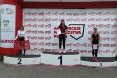 Marlena Gola na podium AMP w lekkiej atletyce 2021