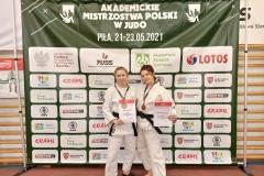 Medalistki AZS PB na AMP w judo, 2021