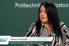 Wirtualne stoisko Politechniki Białostockiej podczas Salonu Maturzystów 2020. Fot. 8