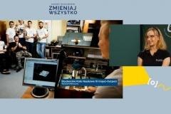 Wirtualne stoisko Politechniki Białostockiej podczas Salonu Maturzystów 2020. Fot. 9