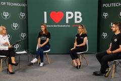 Wirtualne stoisko Politechniki Białostockiej podczas Salonu Maturzystów 2020. Fot. 12
